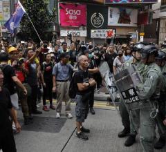 70-años-comunismo-China-Hong-Kong-Protestas-Protestantes-celebración-